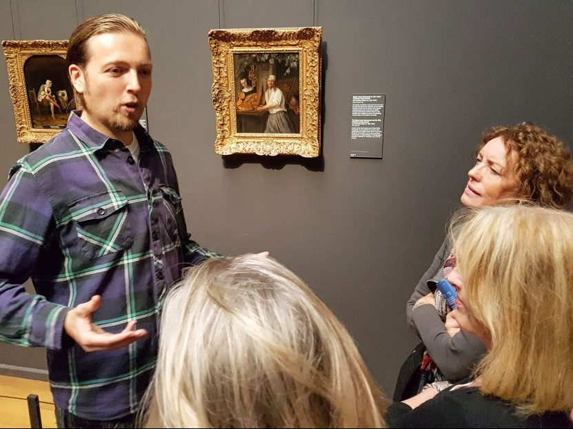 Edgar: your private art historian in the Rijksmuseum